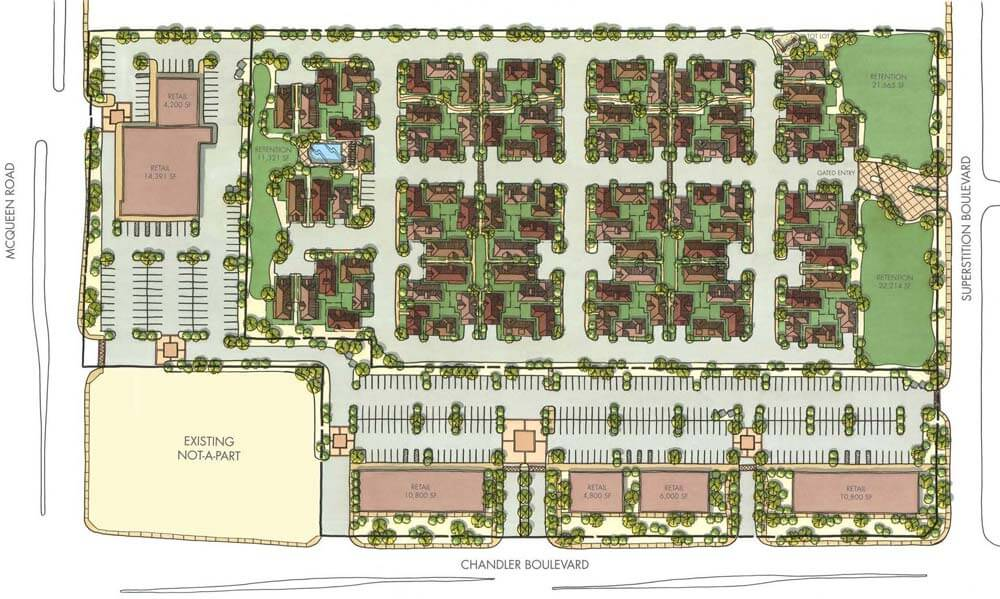 HUB Plan - Mixed Use - McQueen Chandler Blvd 1