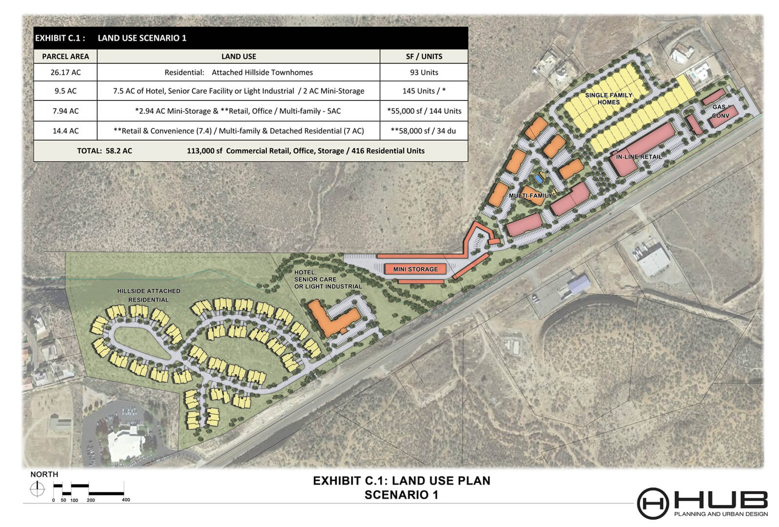 Mariposa PAD (Exhibit C1 Land Use Plan Scenario)